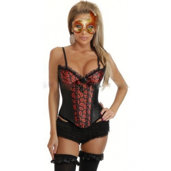 **CELLY**Imported Hot Lips Burlesque Corset