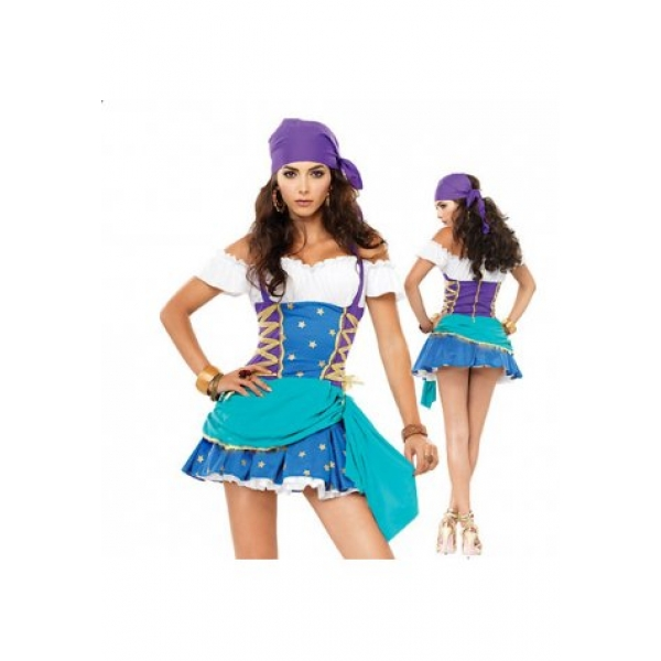 **CELLY**IMPORTED KNOCKOUT ROMANY GIRL COSTUME