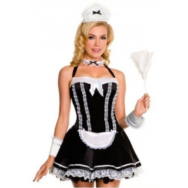 **CELLY** Imported Lovely French Maid Costume