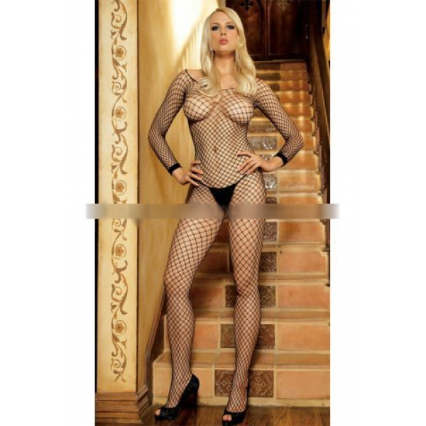 **CELLY** Imported Lycra Net Bodystocking