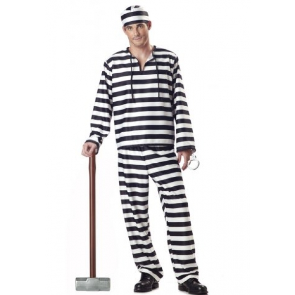 **CELLY**IMPORTED MAN CONVICT COSTUME