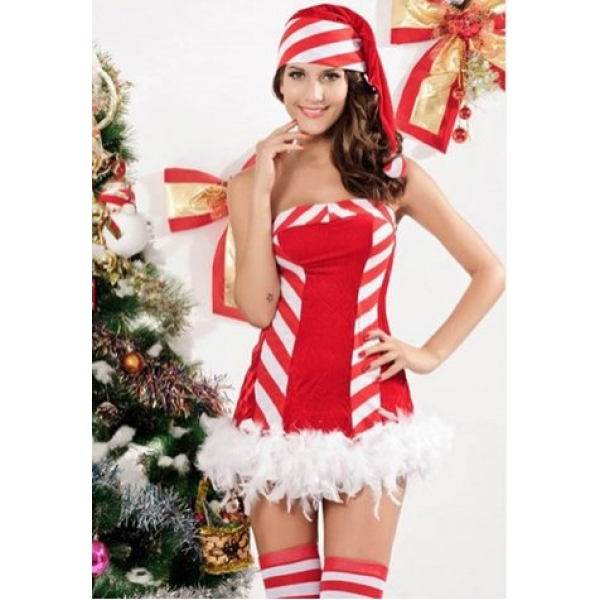 **CELLY** Imported Merry Christmas Candy Costume