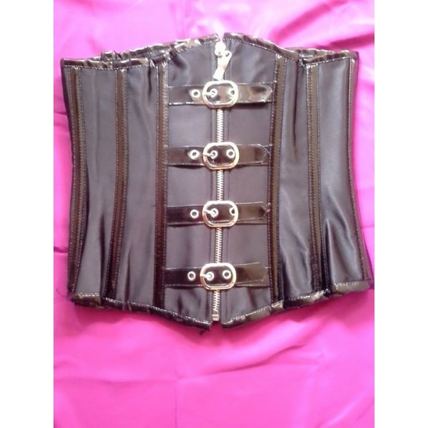 **CELLY** IMPORTED METAL BONED UNDERBUST PVC CORSET
