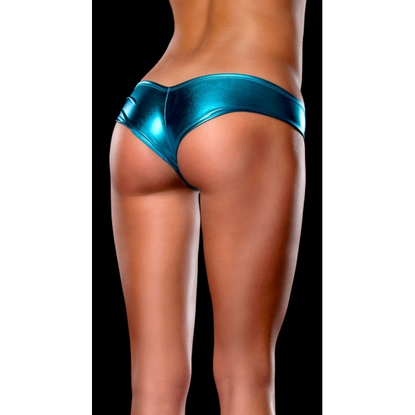 **CELLY** IMPORTED METALLIC SHORTS (BLUE)