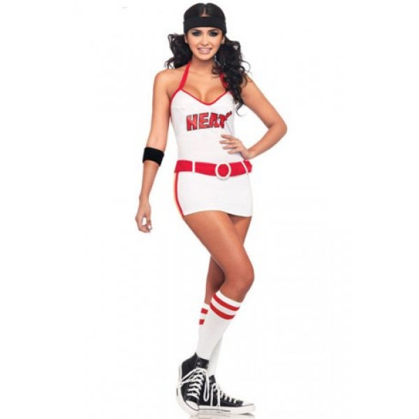 **CELLY** Imported Miami Heat Cheerleader costume