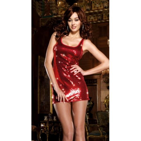 **CELLY**Imported midnight bling bling hot fire club dress