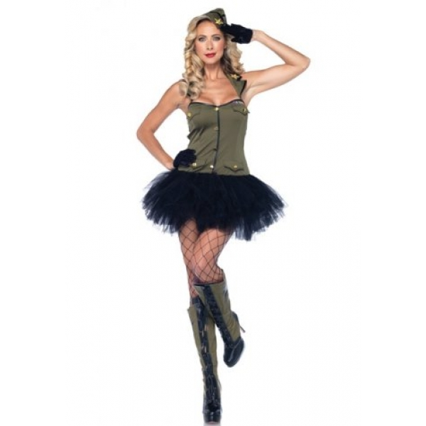 **CELLY** IMPORTED MILITARY PRETTY GIRL COSTUME