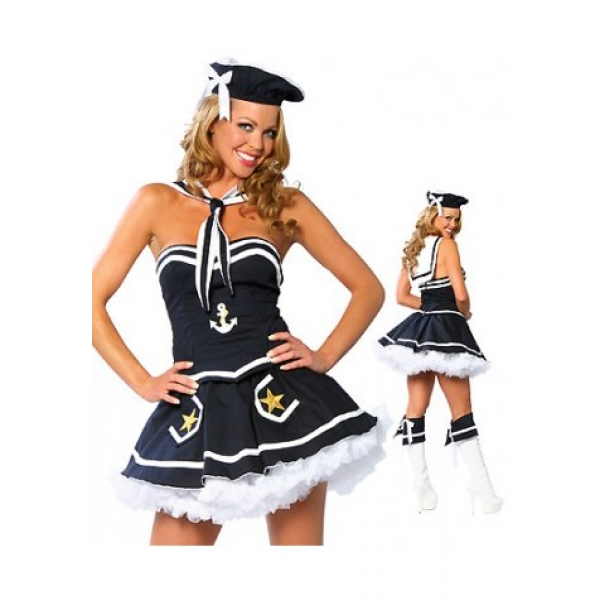 **CELLY**IMPORTED NAUGHT SAILOR SAUCY COSTUME