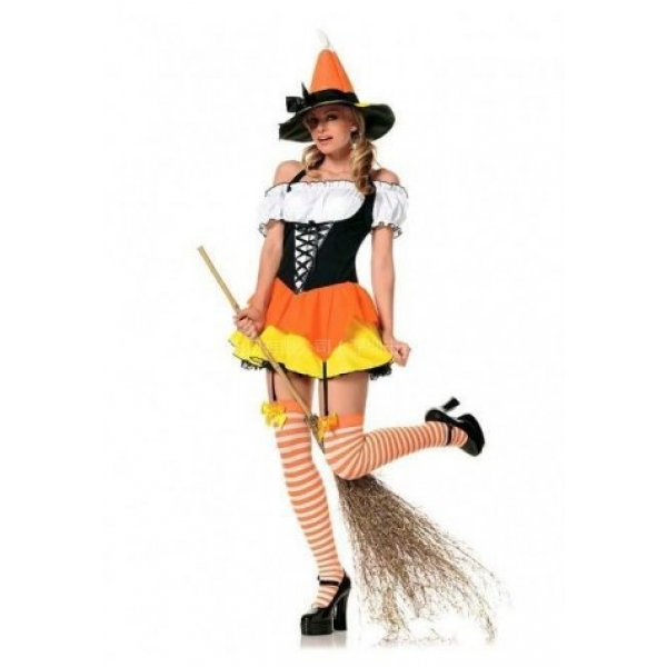 **CELLY**IMPORTED NAUGHTY CANDY WITCH COSTUME