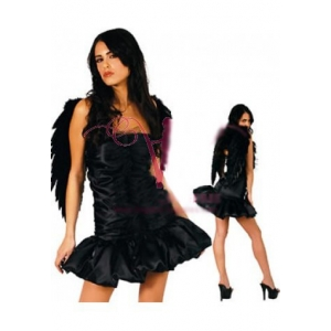 **CELLY** Imported Naughty Dark Angel Costume