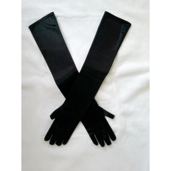 **CELLY** IMPORTED OPERA SATIN LONG GLOVES