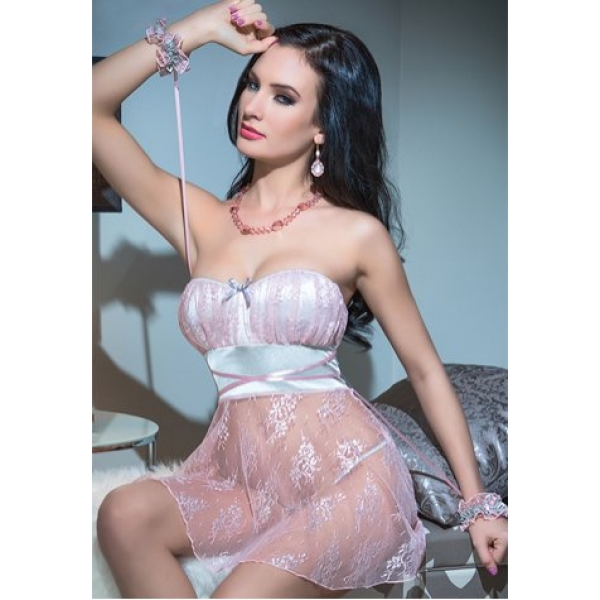 **CELLY**Imported Pink Temptation Babydoll