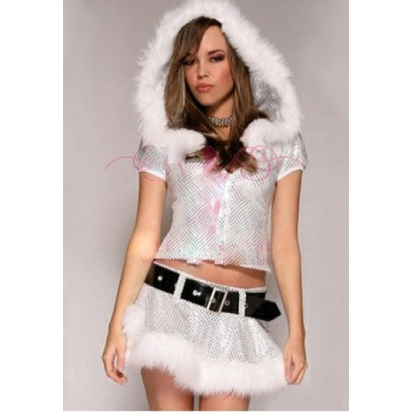 **CELLY** Imported Playful Santa Lingerie Costume