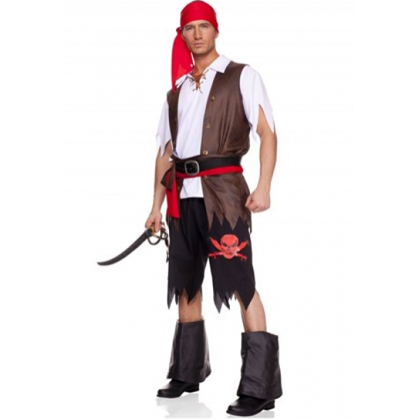 **CELLY** IMPORTED POWERFUL PIRATE COSTUME FOR MEN