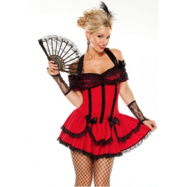 **CELLY** IMPORTED SALOON GIRL SWEETIE COSTUME