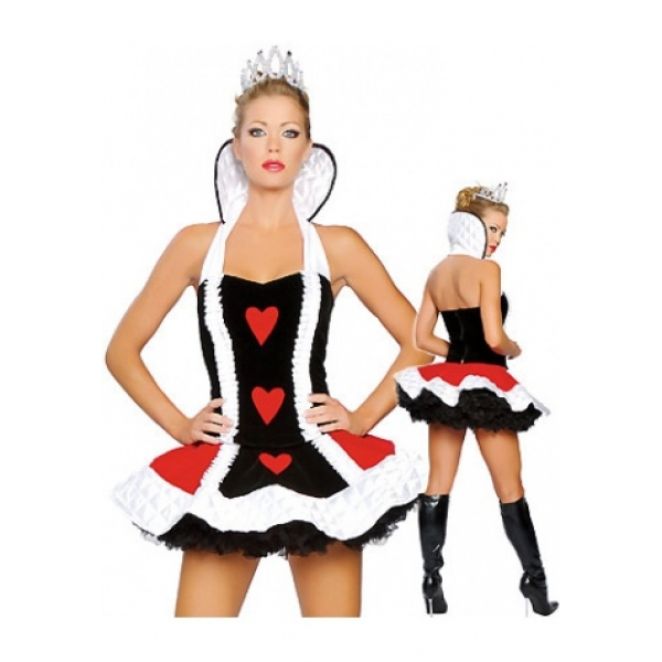**CELLY** IMPORTED SEDUCTIVE QUEEN OF HEARTS COSTUME