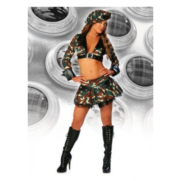 **CELLY**IMPORTED SEXY ARMY BRAT COSTUME