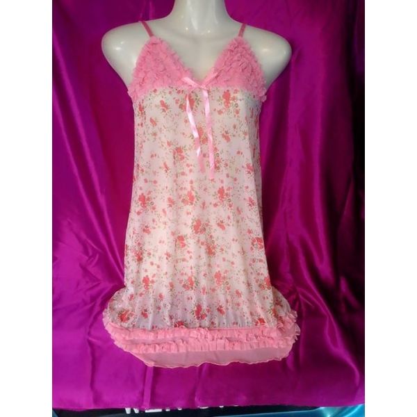 **CELLY** IMPORTED SEXY DRESS (PINK)