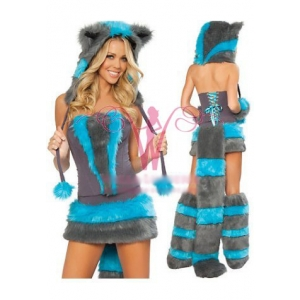 **CELLY** Imported Sexy Magic Cheshire Cat Costume