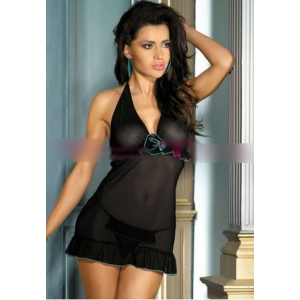 **CELLY** Imported Sexy Mesh Chemise