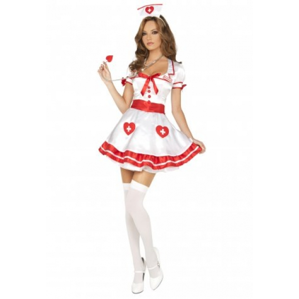 **CELLY**IMPORTED SEXY NURSE KANDI COSTUME