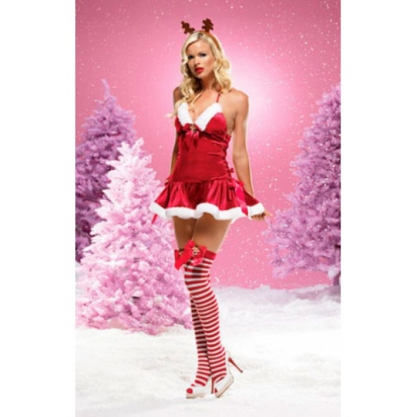 **CELLY** IMPORTED SEXY REINDEER DRESS
