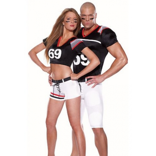 **CELLY** Imported Sexy rugby football player costume