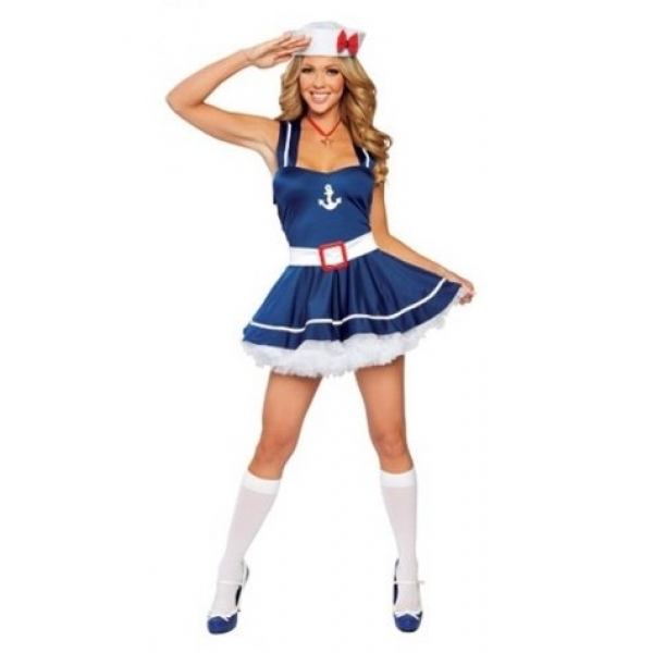 **CELLY**IMPORTED SEXY SLING SAILOR COSTUME WITH LOVELY HAT