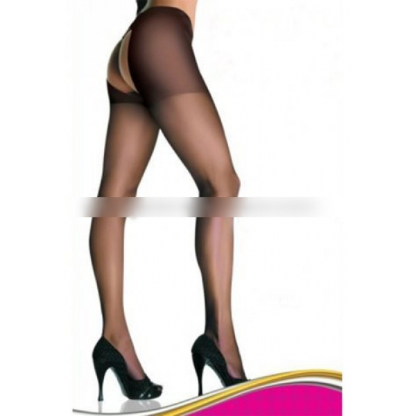 **CELLY** Imported Sheer Crotchless Pantyhose