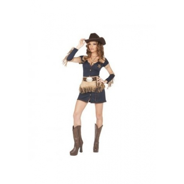 **CELLY**IMPORTED SULTRY WOMAN SHERIFF COSTUME