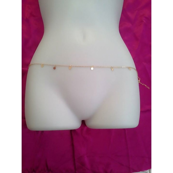 **CELLY** Imported Womens Sexy Fashion Lady Link Body Belly Waist simp..