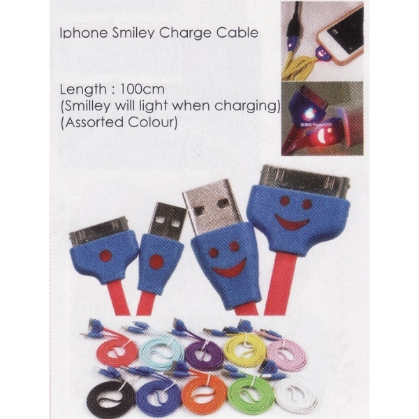 **CELLY** IPHONE SMILEY CHARGER CABLE