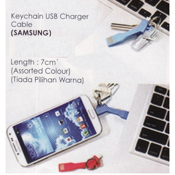 **CELLY** KEYCHAIN USB CHARGER CABLE (SAMSUNG)
