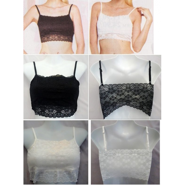 **CELLY**LACE TUBE TOP