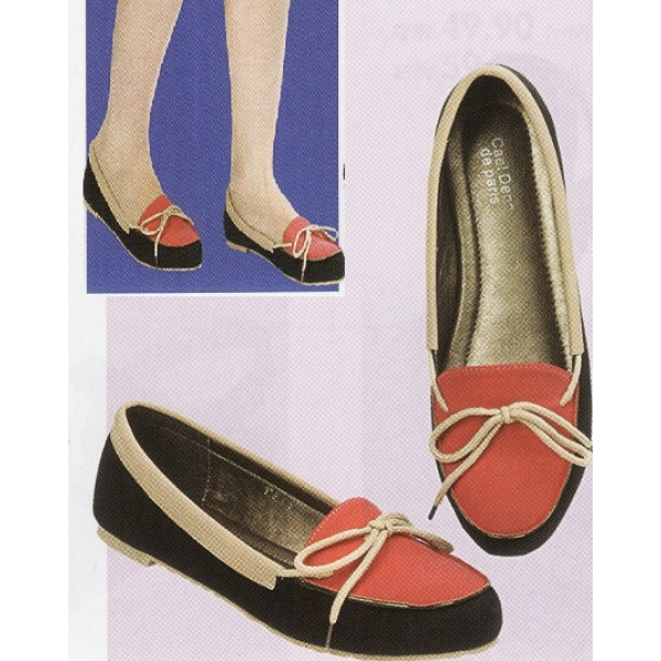 **CELLY**Ladies Flat/ Ballerina Shoe (Pink)