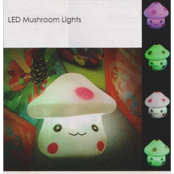 **CELLY**LED MUSHROOM LIGHTS (LEDG????)