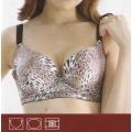 **CELLY** Luxury D Cup Bra (Brown)