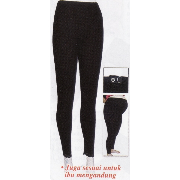 **CELLY**MATERNITY WEAR ~SPANDEX LEGGING~ (BLACK)