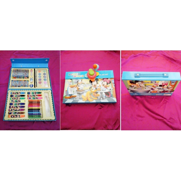 **CELLY**MICKEY MOUSE 68 PIECES ART SET WITH BOX