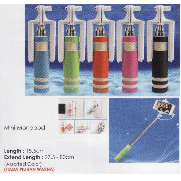 **CELLY** Mini Monopod (Assorted Color)