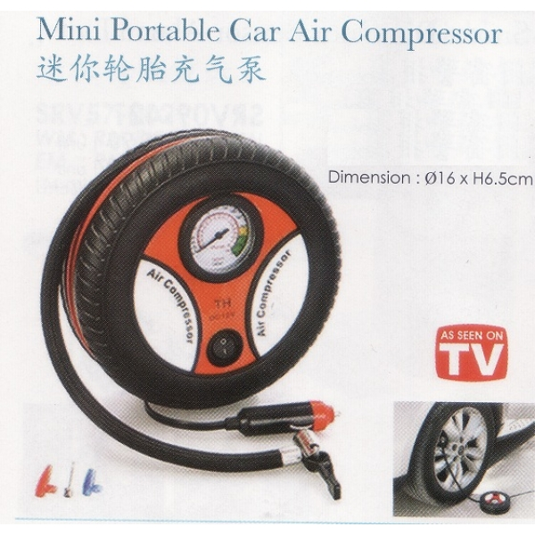 **CELLY** MINI PORTABLE CAR AIR COMPRESSOR