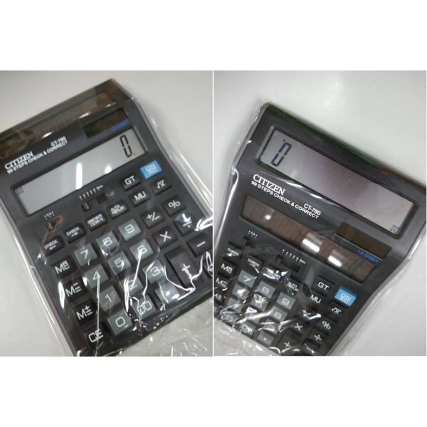 **CELLY**MULTIFUNCTION DUAL DISPLAY CITIZEN CALCULATOR