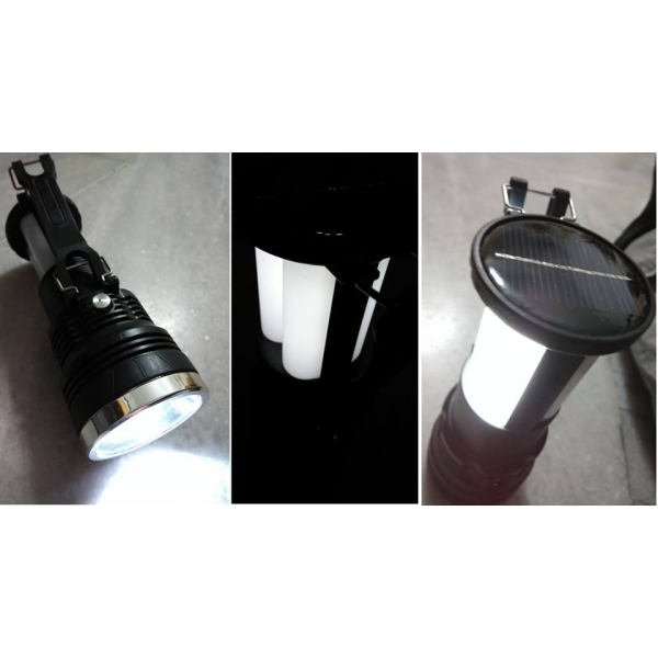 **CELLY**MULTIFUNCTION PORTABLE SOLAR LED RECHARGEABLE HAND LIGHT -TOR..