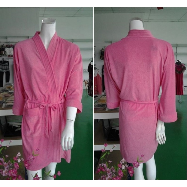 **CELLY**Night Wear ~ Bathrobe (Unisex) ~ (Pinky Orange)