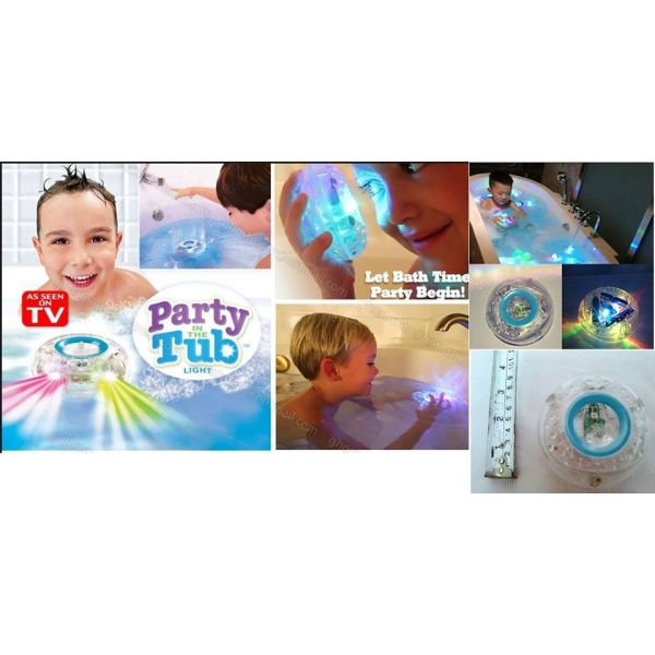 **CELLY**PARTY IN THE TUB TOY BATH WATER LED LIGHT KIDS WATERPROOF CHI..