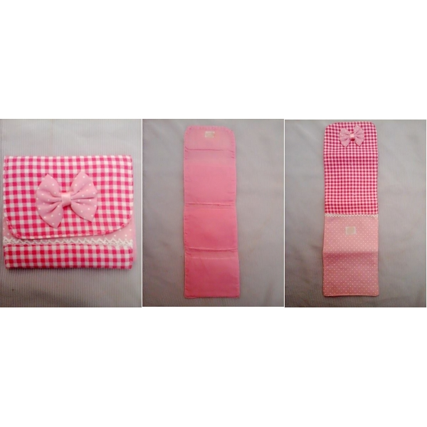**CELLY**PINKY RIBBON SANITARY PAD POUCH