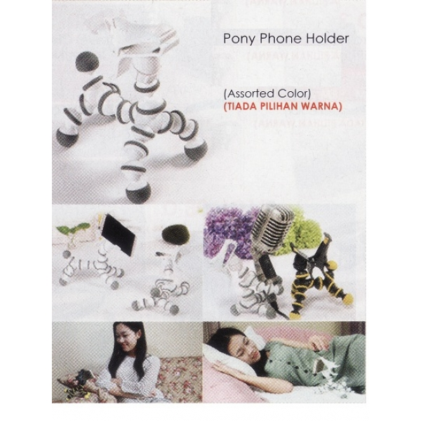 **CELLY**Pony Phone Holder(Assorted Color)