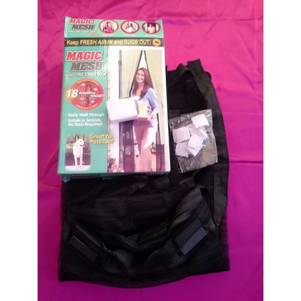 **CELLY** SALE!!! MESH MAGIC INSTANT SCREEN DOOR (ORIGINAL PRICE RM29...