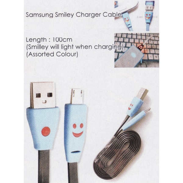 **CELLY** SAMSUNG SMILEY CHARGER CABLE