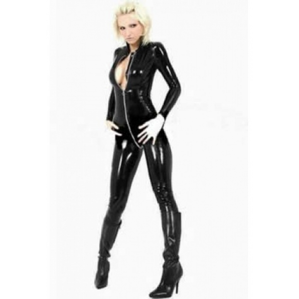 **CELLY** Sexy Wet Look Catsuit - Back in stock!